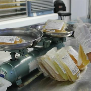 Bolsas de plasma estão perdendo validade e sendo descartadas