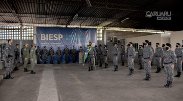 Mudança de comando no 1° BIEsp em Caruaru