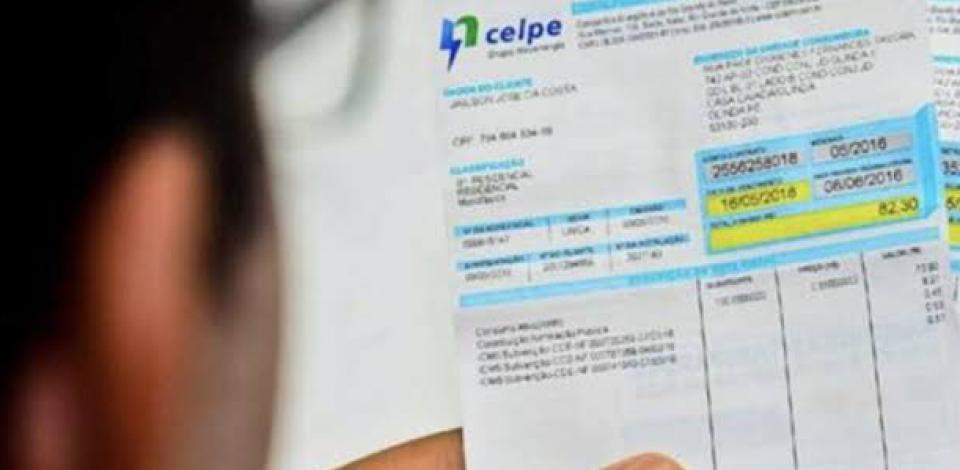 Conta de energia ficará mais cara em Pernambuco