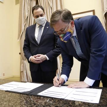 Governo do estadorecebe embaixador e reafirma parcerias com os Estados Unidos