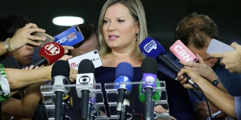 A deputada afirmou que a aprovação é menor no Nordeste por conta de fake news