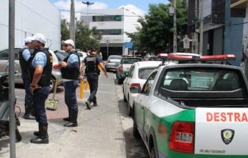 Destra realiza ações em alusão à Semana Nacional de Trânsito em Caruaru