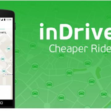 Novo aplicativo de transportes InDriver