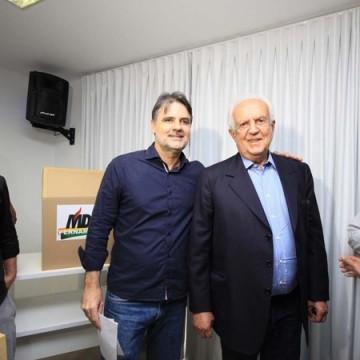 Condução do MDB PE para 2021 com relação pacífica entre senador e   líder do governo Bolsonaro