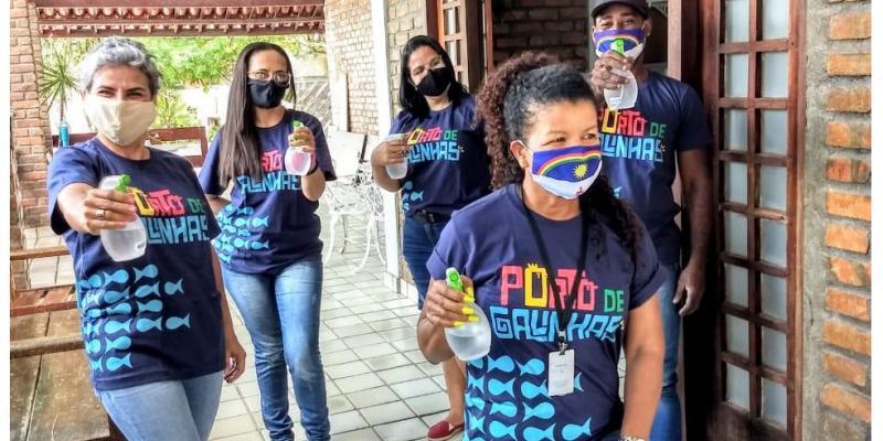 Como forma de reforçar os cuidados com a higiene e o uso da máscara de proteção contra o COVID-19, a Prefeitura do Ipojuca realizará, na próxima segunda-feira, feriado de 7 de setembro, às 9h, uma grande ação de conscientização