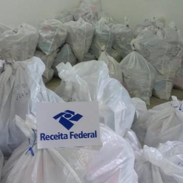 Operação Mascates da Receita Federal e Secretaria da Fazenda apreende mercadorias comercializadas de forma ilegal