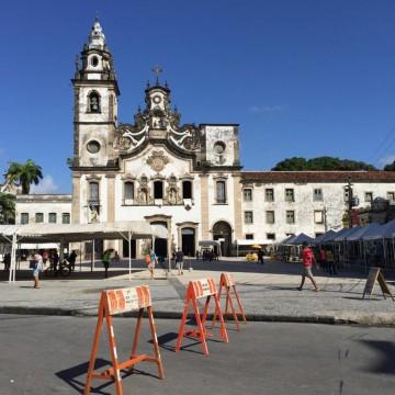 Festa de nossa senhora do Carmo muda itinerário de ônibus no centro do Recife
