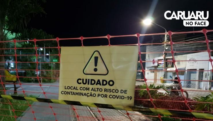 Prefeitura isola Via Parque, em Caruaru