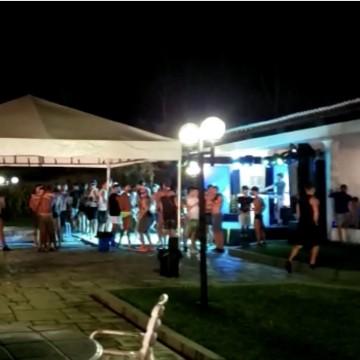 Procon-PE acaba com festa com mais de 100 pessoas em Moreno