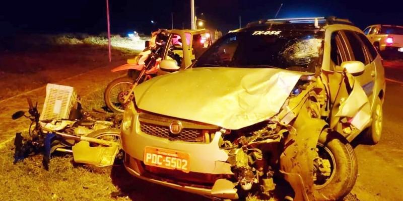 O acidente ocorreu na segunda-feira (22), na BR-363, na ladeira do Porto de Santo Antônio, em Fernando de Noronha