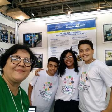 Estudantes do Recife são destaque na Olimpíada Brasileira de Saúde e Meio Ambiente