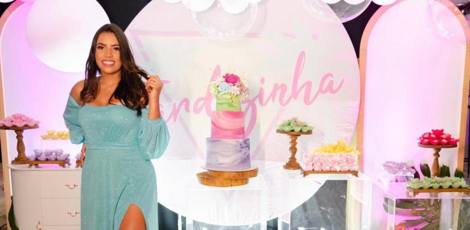 Maria Eduarda comemora idade nova em Toritama