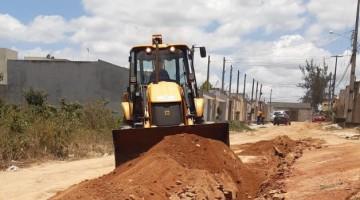 Bairro Nova Caruaru é contemplado com nova rede de abastecimento