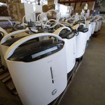 Governo do estado envia 149 concentradores de oxigênio para municípios