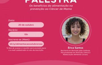 Secretaria de Políticas para Mulheres realiza palestra sobre o impacto da alimentação na prevenção do câncer