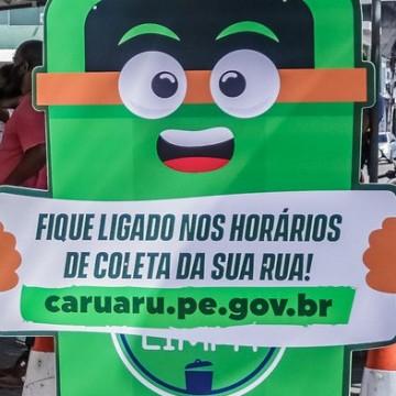 Caruaru amplia coleta de lixo nos residenciais Luiz Bezerra Torres e Alto do Moura