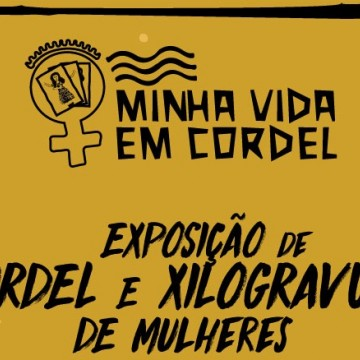 Cordéis e xilogravuras feitas por mulheres em projeto da prefeitura estarão expostas no Caruaru Shopping