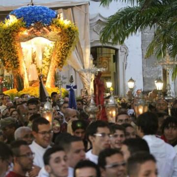 Devotos de Nossa Senhora do Carmo antecipam as celebrações em homenagem à Santa