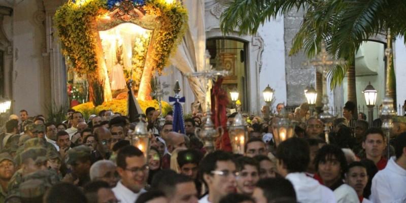 Nesta terça-feira (16), tem início a 323 ª festa do Carmo