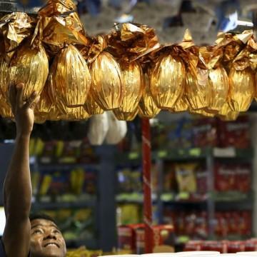 Setor de supermercados prevê crescimento nas vendas da páscoa diante das compras on line