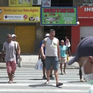 Comércio de rua continua funcionando na RMR e Zona da Mata