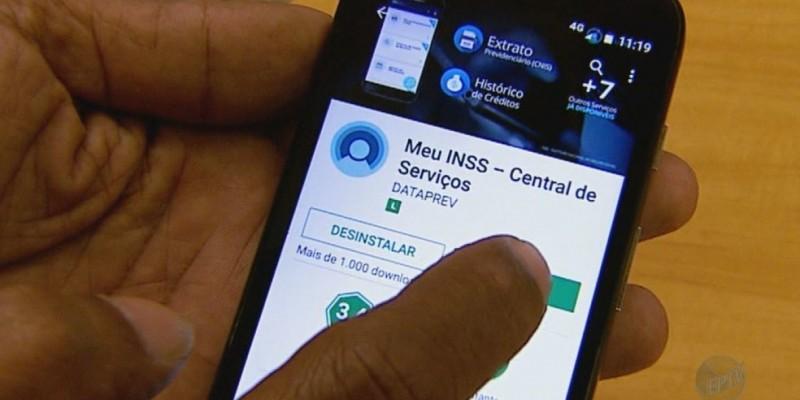 O atestado pode ser enviado pelo site ou aplicativo Meu INSS, disponível para os sistemas Android e IOS