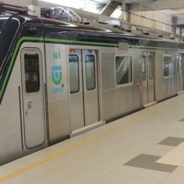 Estações do ramal Jaboatão do metrô não funcionam no domingo