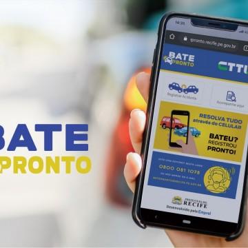 Recife terá sistema de registro eletrônico para acidentes de trânsito sem vítima