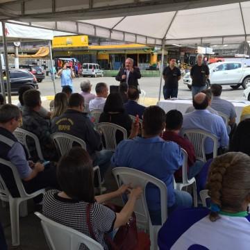 Cartilha de segurança comunitária é lançada no Ceasa