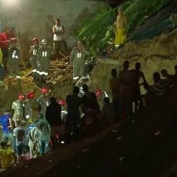 Sobe para nove a quantidade de mortos após deslizamento de barreira em Camaragibe