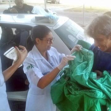 Mulher dá à luz em pátio da PRF