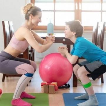 Atividade física em casa dá certo?