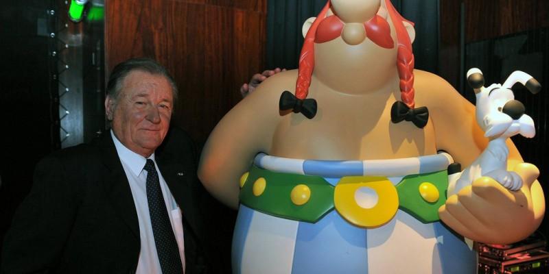 Criador da estética do universo Asterix nos deixou nesta terça