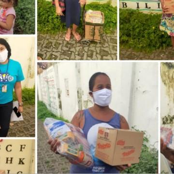 Movimento Pró-Criança entrega cestas básicas a famílias carentes do Recife na quarta-feira (12)