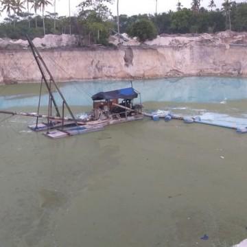 CPRH paralisa mineração ilegal em Área de Preservação Ambiental