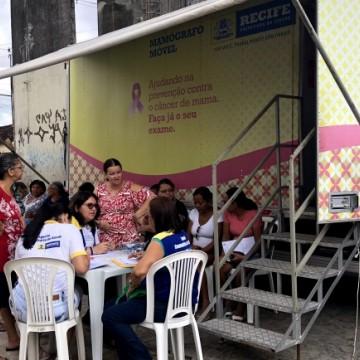 Mamógrafo móvel percorre bairros do Recife