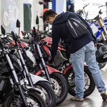 Frota de motocicletas aumenta 110% em uma década