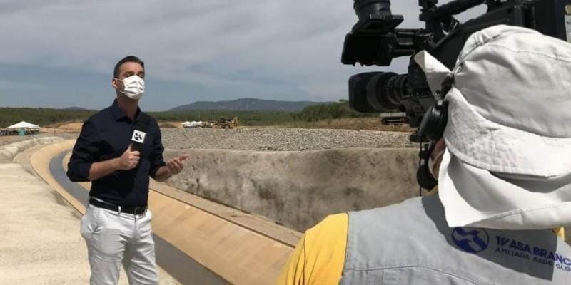 De acordo com o presidente da Sinjope, a TV Asa Branca é o principal meio de divulgação de notícias da região