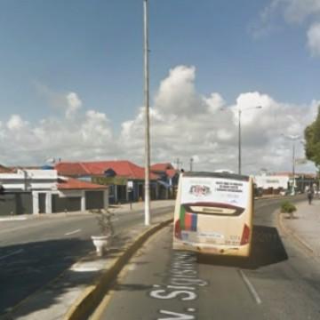 Obras na rede coletora de esgoto mudam trânsito em Olinda