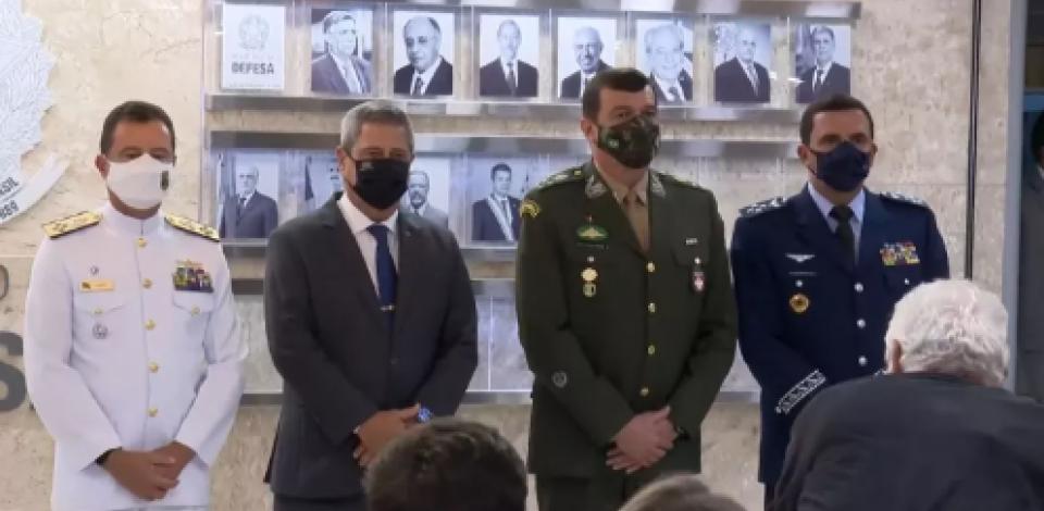 Anunciados novos comandantes do Exército, Marinha e Aeronáutica