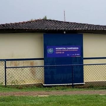 Hospital de campanha na Ilha de Fernando de Noronha é finalizado