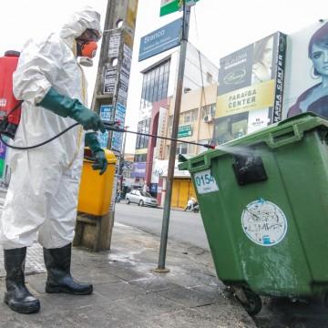 Prefeitura de Caruaru realiza diariamente sanitização contra o Covid-19