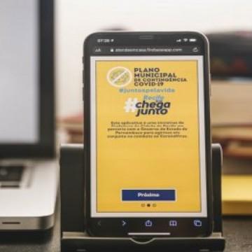 Aplicativo que oferece atendimento em casa para casos suspeitos de Covid-19 está disponível para o interior pernambucano