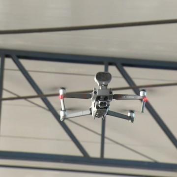 Monitoramento por drones mostra que grande parte da população continua descumprindo as restrições de combate a Covid-19
