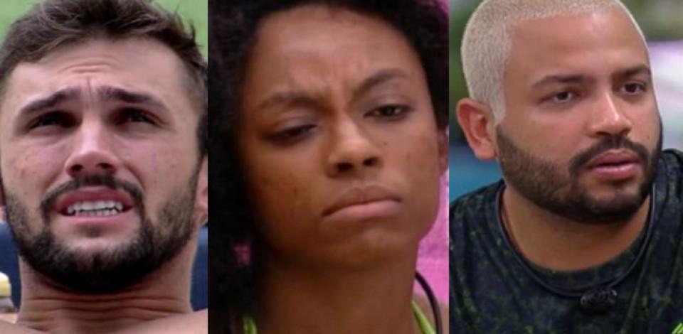 Quem deve sair hoje o BBB 21: Arthur, Lumena ou Projota?