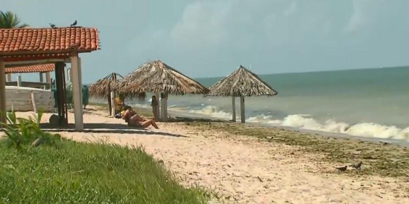 As atividades liberadas incluem o banho de mar