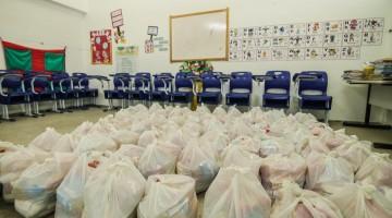 Secretaria de Educação de Caruaru realiza novas entregas de kits alimentares nesta quinta e sexta