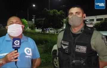 Menores são presas com drogas no bairro do Salgado em Caruaru