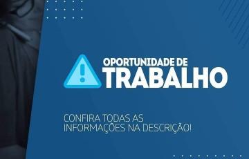 Confira ofertas de emprego para Caruaru