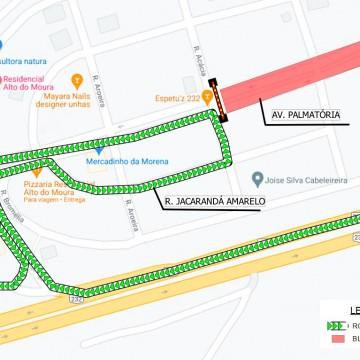 Trecho da Avenida Palmatória será interditado